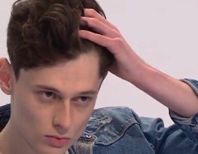 """""""Top Model"""". Chory 20-latek wzruszył jurorów swoją historią. """"Dawid, jak..."""