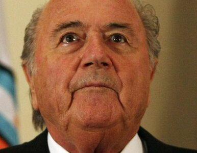 Blatter: nie wierzę w teorie spiskowe