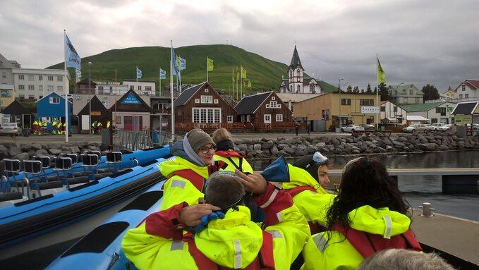 Podglądanie wielorybów todla Islandczyków niezły biznes