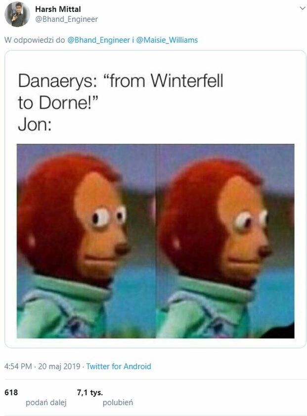 Daenerys: Od Winterfell do Dorne!, Jon:...