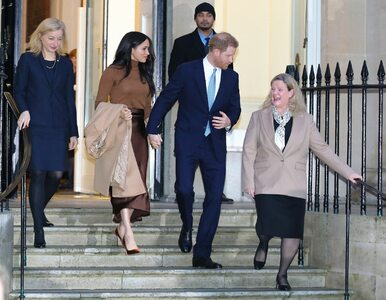 Pilna narada rodziny królewskiej.  Ważą się losy Meghan i Harry'ego