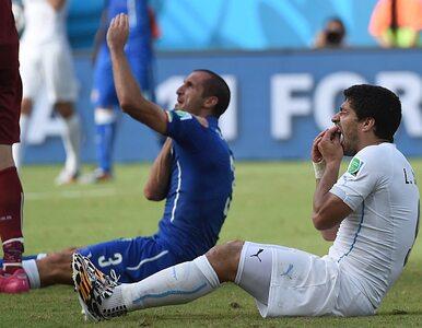 Suarez ugryzł w trakcie meczu Chielliniego. FIFA zawiesi go na 2 lata?