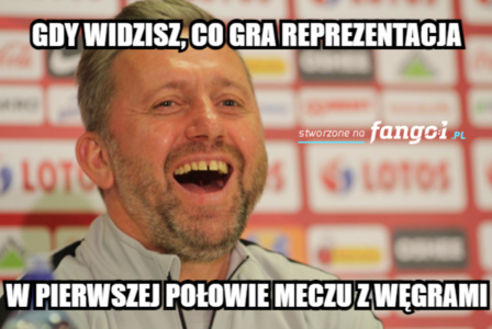 Polska zremisowała z Węgrami. Najlepsze MEMY po meczu
