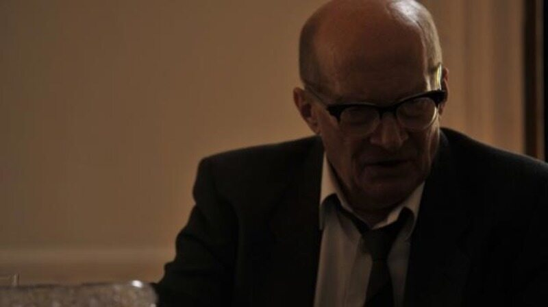 """Wojciech Pszoniak jako Władysław Gomułka w filmie """"Czarny czwartek. Janek Wiśniewski padł"""" (2011)"""