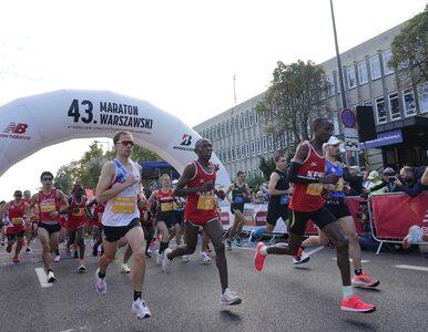 Ruszył Maraton Warszawski. Duże utrudnienia na ulicach stolicy