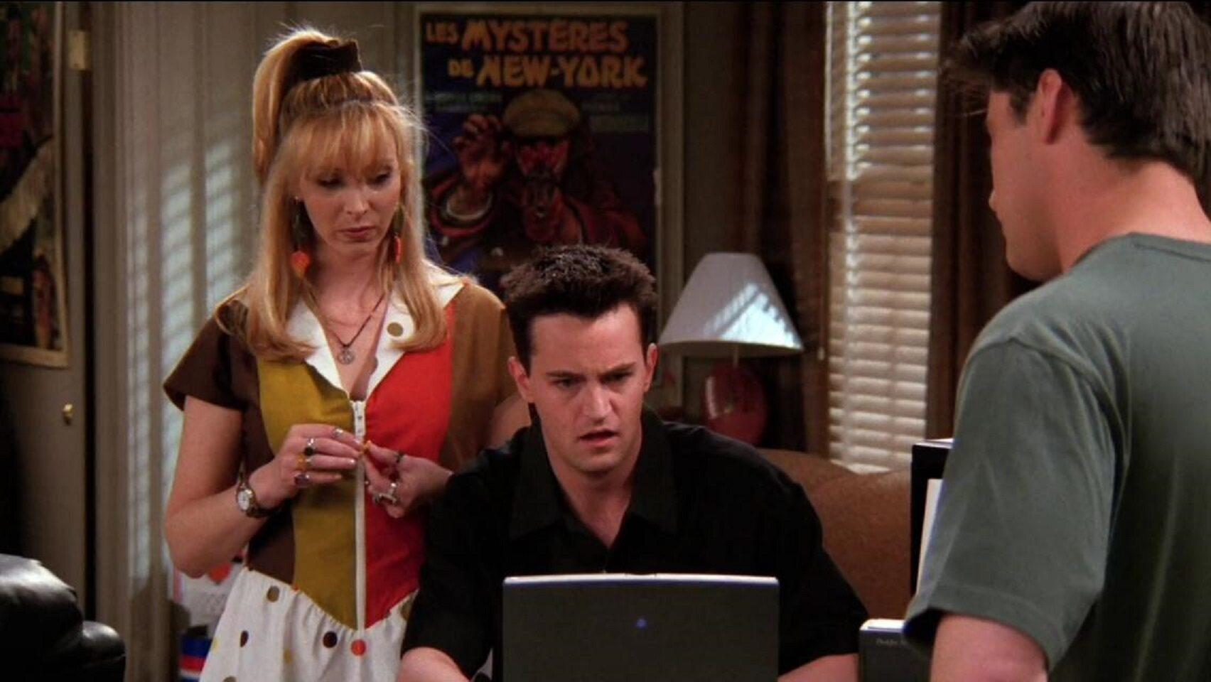 Czyje dzieci urodziła Phoebe?