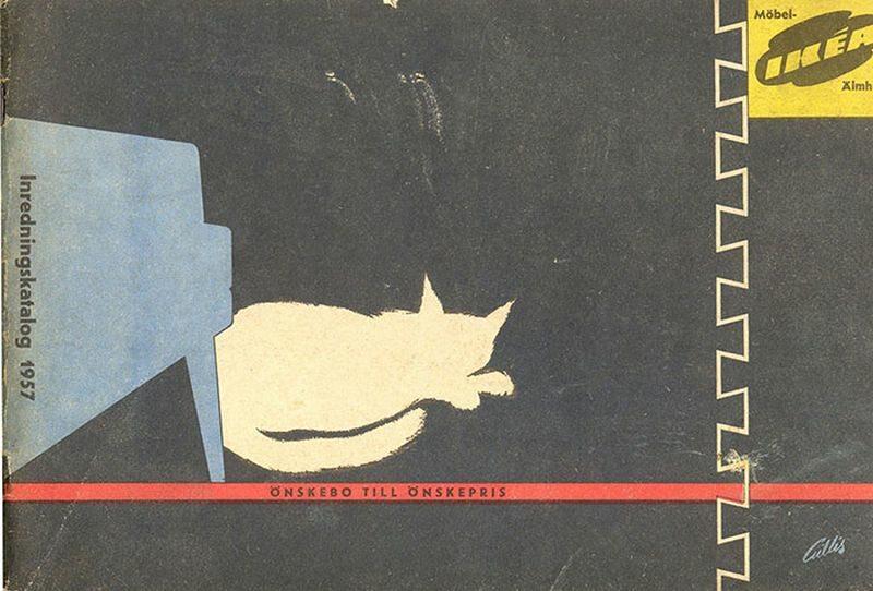 Okładka katalogu IKEA z 1957 roku