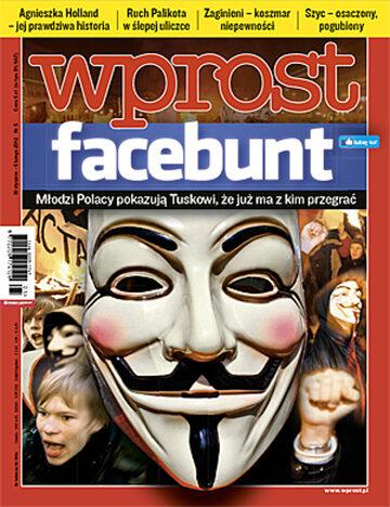 Okładka tygodnika Wprost nr 5/2012 (1511)