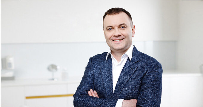 Dr Maciej Rogala, właściciel Nativis Clinic