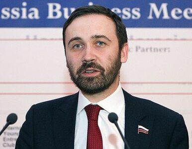 Zagłosował przeciwko aneksji Krymu. Pozbawią go mandatu?