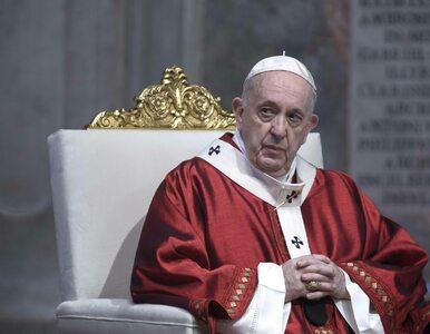Papież popiera apel ONZ o globalne zawieszenie broni w związku z...