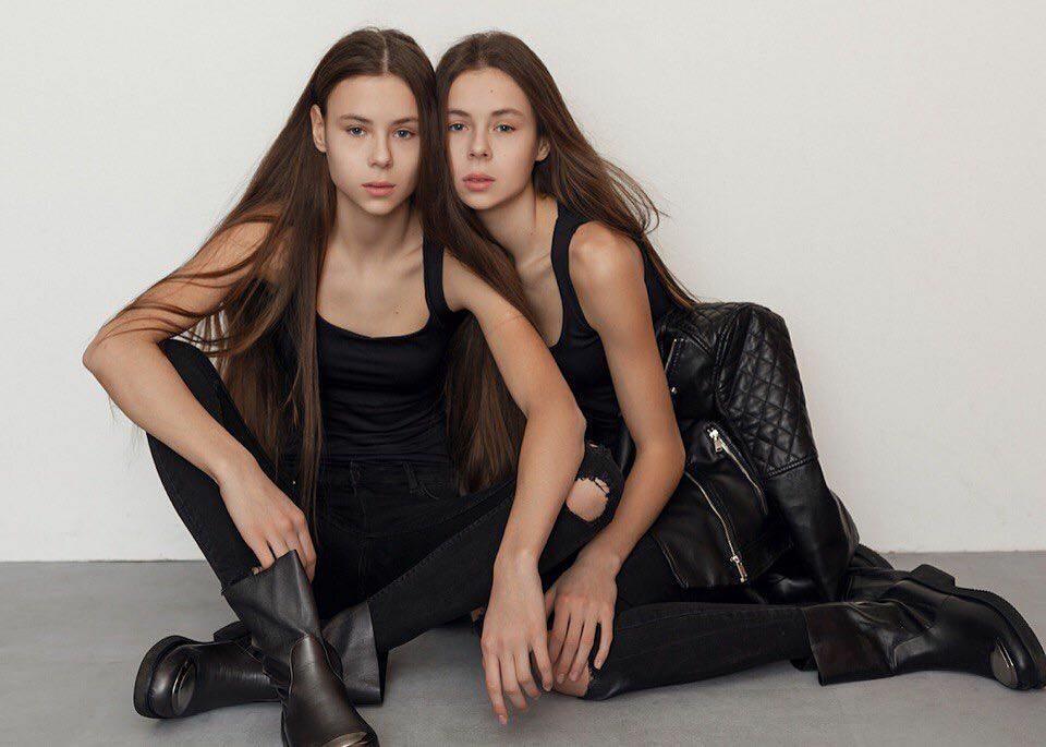 Masha Ledeneva i Dasha Ledeneva