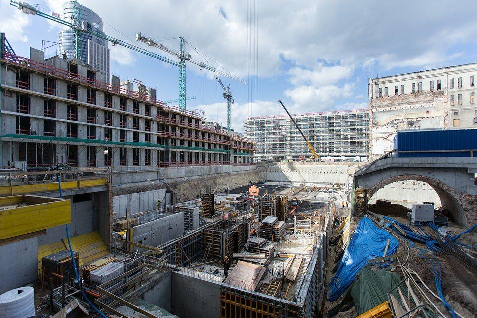 Postępy budowy Postępy budowy Browarów Warszawskich