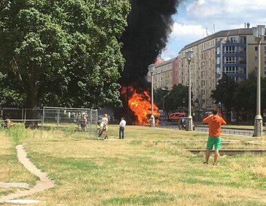 Eksplozja wstrząsnęła jedną z dzielnic Berlina