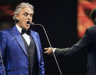 Andrea Bocelli nie został wpuszczony na koncert do Słowenii