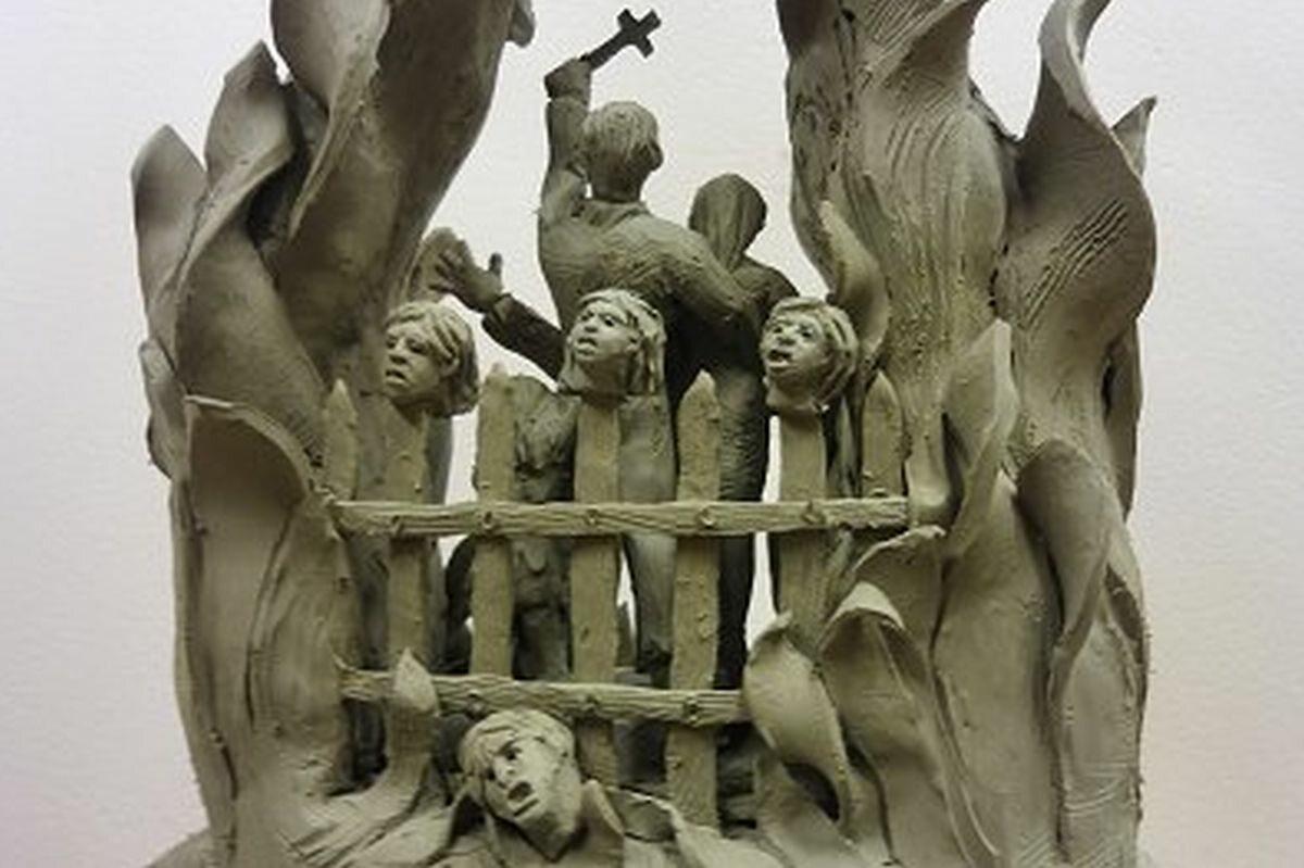Projekt pomnika ofiar rzezi wołyńskiej