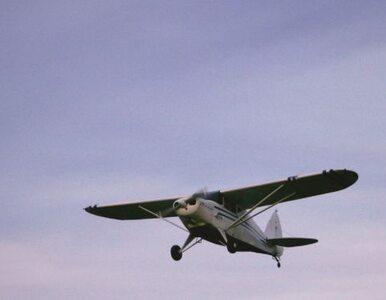 Łódzkie: rozbił się samolot. Pilot nie żyje