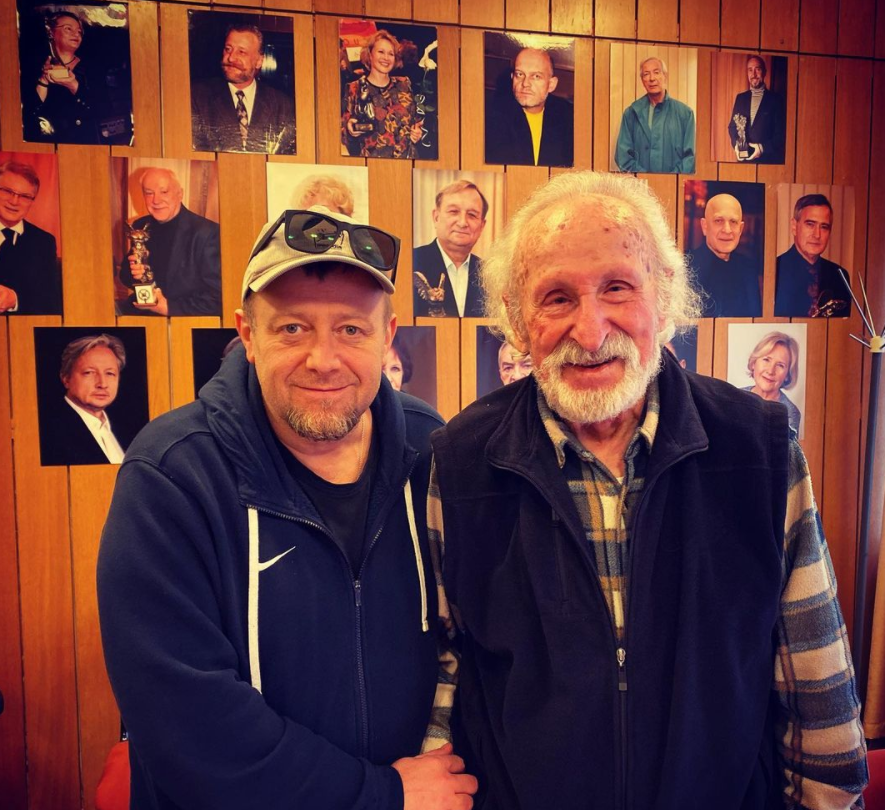 Olaf Lubaszenko Olaf Lubaszenko i Franciszek Pieczka