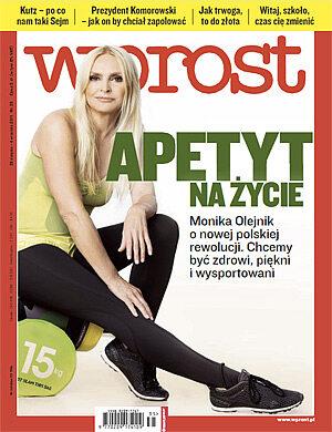 Okładka tygodnika Wprost nr 35/2011 (1490)