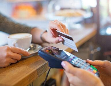 Wartość transakcji kartami wzrosła o 10 proc., a to dane jeszcze sprzed...