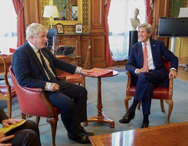 """Kerry uczy Johnsona. """"To właśnie nazywamy dyplomacją, Boris"""""""