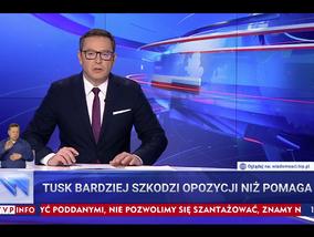 """""""Wiadomości"""" TVP uderzają w Donalda Tuska. Tym razem bez """"fur Deutschland"""""""