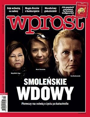 Okładka tygodnika Wprost nr 24/2010 (1427)