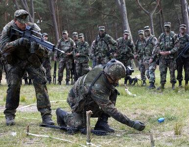 Niemcy chcą wysłać żołnierzy do Polski