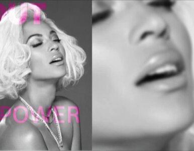 Beyonce roznegliżowana w peruce stylizowanej na Marilyn Monroe