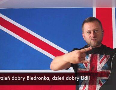 Rosjanie śpiewają o Biedronce i Lidlu