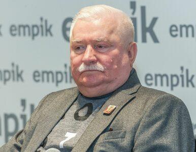 Lech Wałęsa pochwalił się otrzymaną kartką. Na niej podpis 7-letniego Kuby