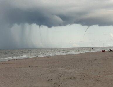 Osiem trąb wodnych pojawiło się przy polskim wybrzeżu. Niezwykłe zdjęcia...