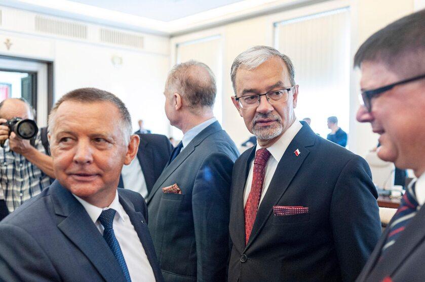 Marian Banaś i Jerzy Kwieciński