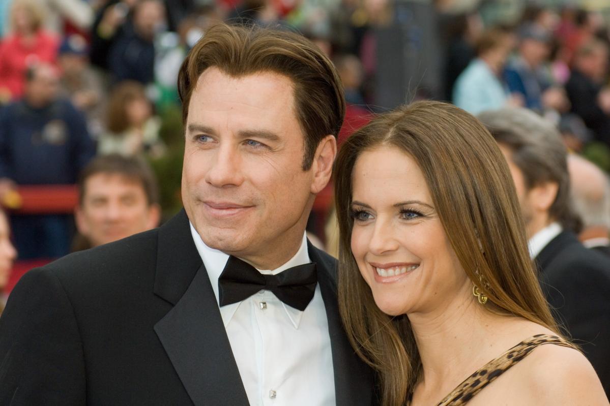 John Travolta i Kelly Preston podczas 79. ceremonii rozdania Oscarów w 2007 roku