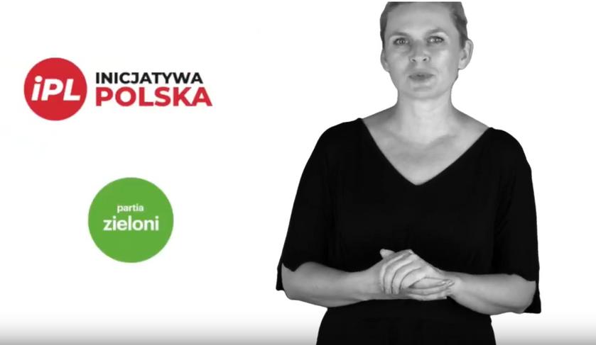 Barbara Nowacka w spocie KO