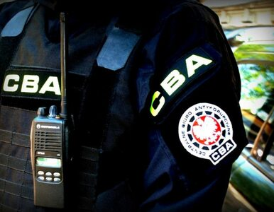 Były policjant w rękach CBA. Wpadł na gorącym uczynku