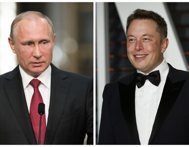 Elon Musk zaprosił Władimira Putina na rozmowę. Jest odpowiedź Kremla