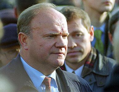 Komuniści Ziuganowa: rozszerza się strefa masowych fałszerstw