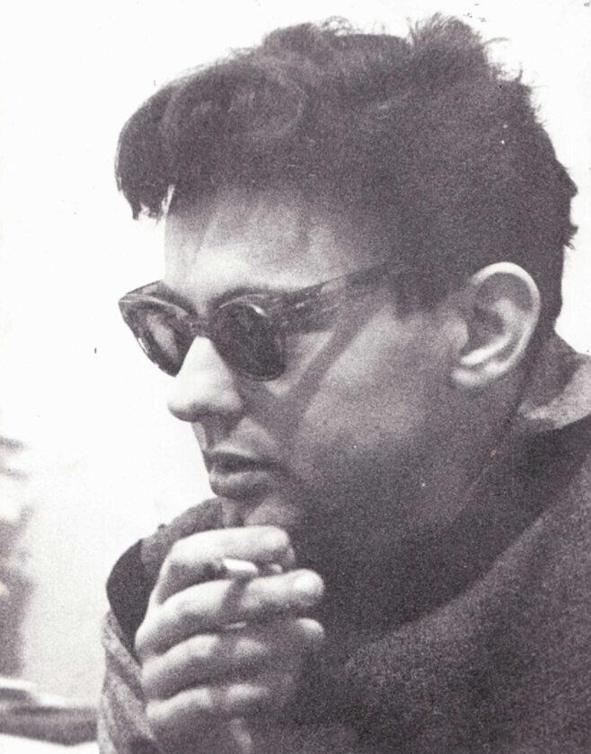 Witold Dąbrowski w 1960 roku