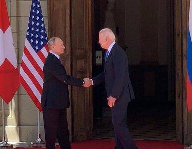 Rozpoczął się szczyt Putin – Biden. Prezydenci zabrali głos