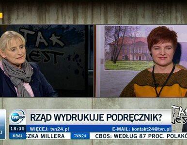 Wydawca podręczników: Mam wrażenie, że to Tusk idzie do pierwszej klasy