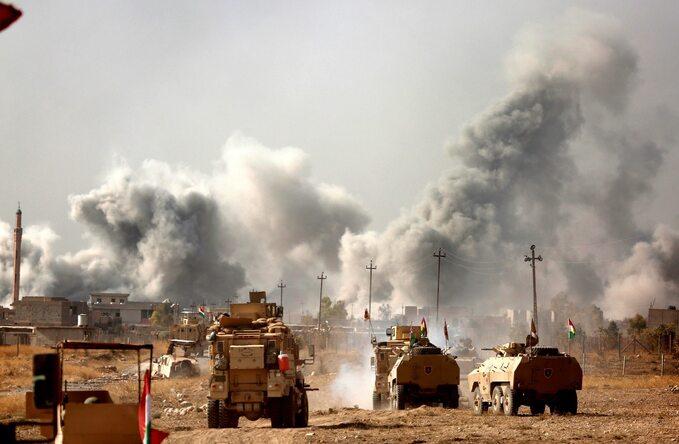 Oblężenie Mosulu, listopad 2016 roku