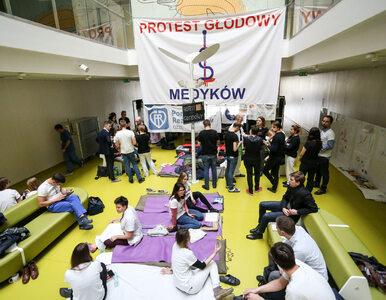 62-letnia pacjentka dołączyła do protestu głodowego lekarzy
