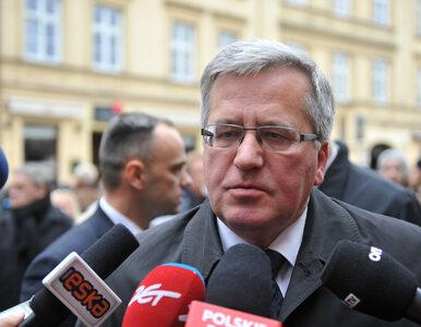 Komorowski: Kuchciński powinien się podać do dymisji, jeśli nie chce...