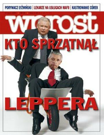 Okładka tygodnika Wprost nr 29/2007 (1282)
