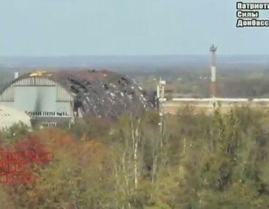 Szturm na lotnisko w Doniecku. Atak artylerii i czołgów