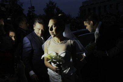 Ślub Aleksandry Kwaśniewskiej