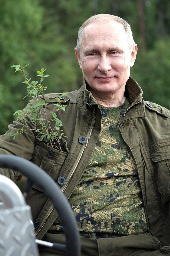 Wakacje Władimira Putina