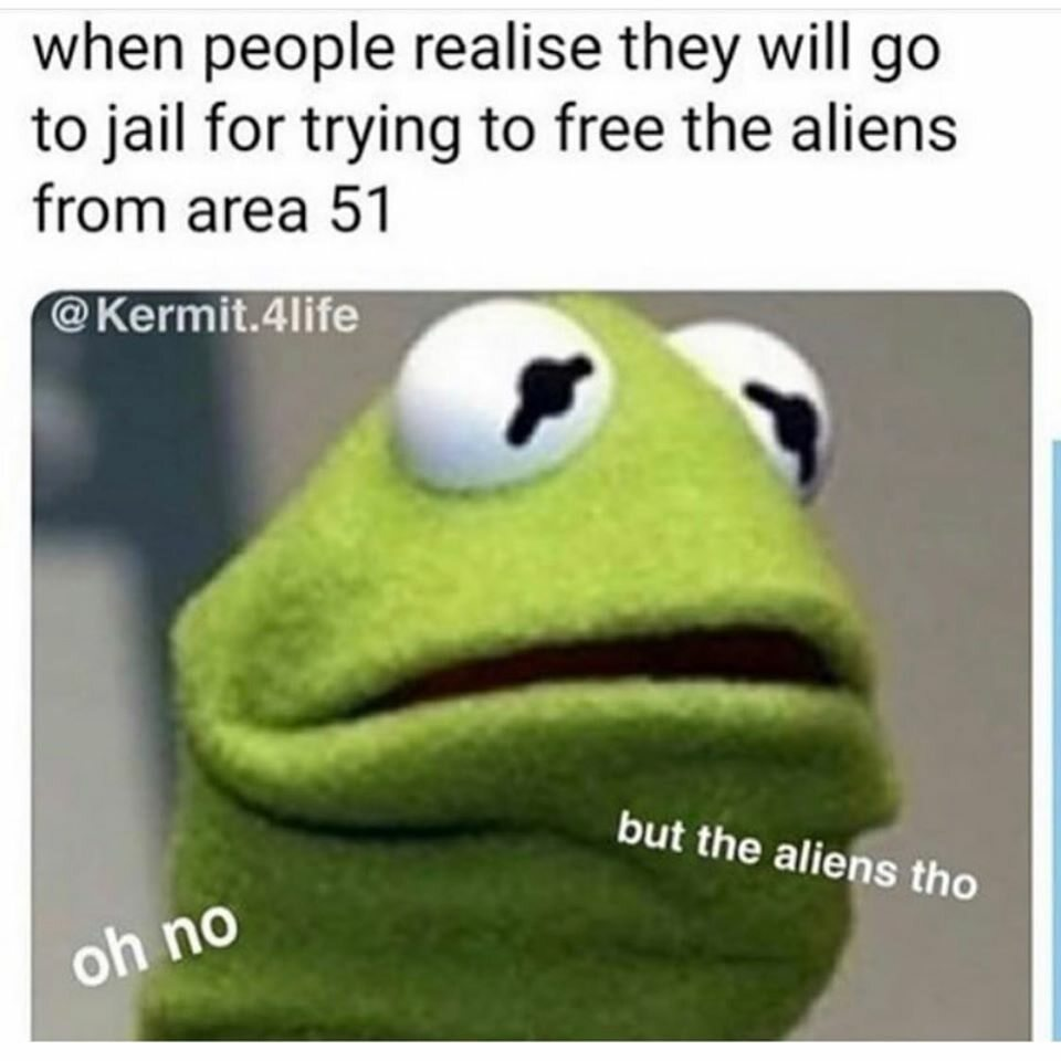 """Mem zainspirowany """"szturmem"""" na Strefę 51"""
