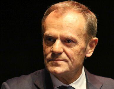"""Tusk skomentował słowa Kaczyńskiego o """"chamskiej hołocie""""...."""